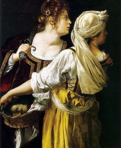 Art by Gentileschi Judith